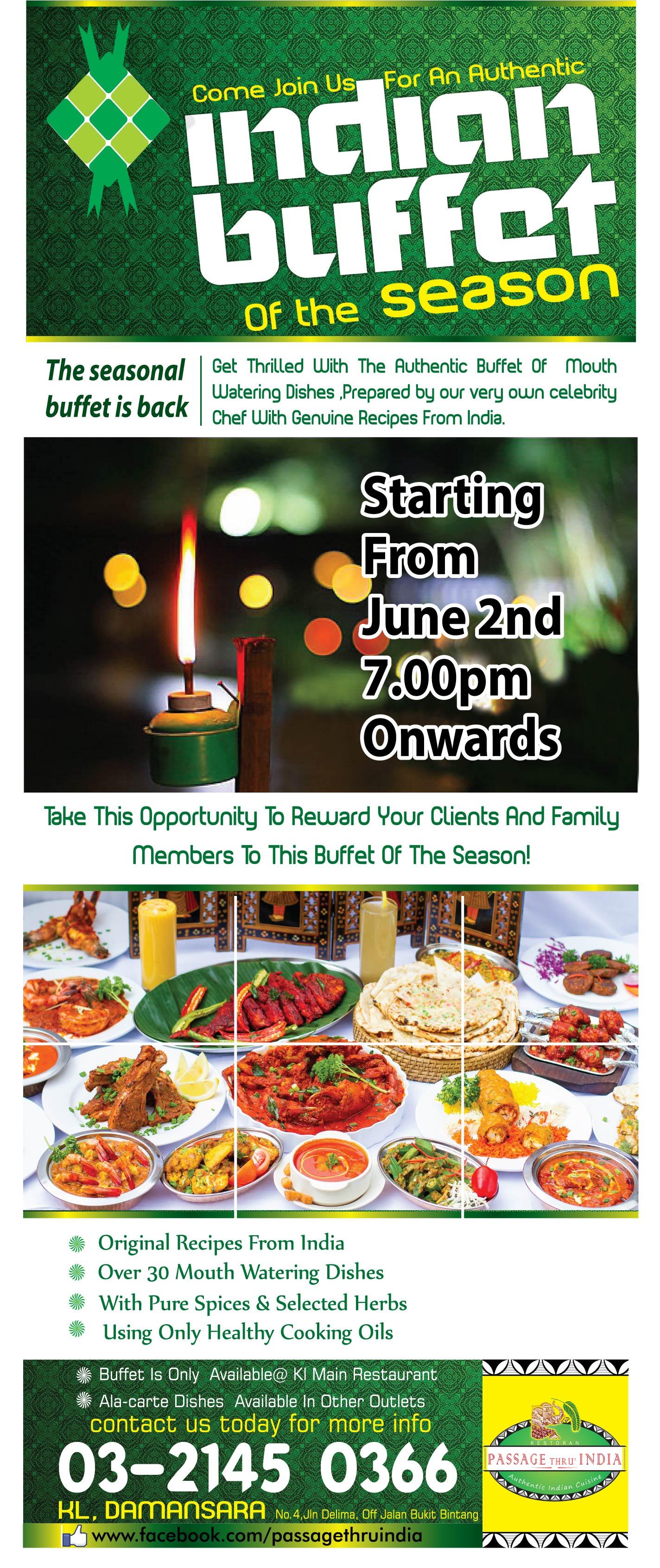 Passage Thru India Restaurant Best Indian Restaurant Kuala Lumpur - Ethnic restaurants in the us map